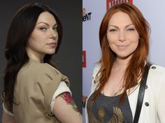 Alex Vause from Orange is the New a Black. (Laura Prepon)