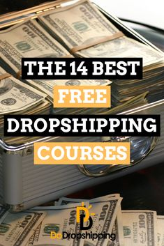 Free dropshipping courses are a great way to learn dropshipping, for... free! No need to buy an expensive dropshipping course in 2019. I have 14 awesome options for you that will surely give you a lot of information about dropshipping for free. This way you can spend your money on your dropshipping business instead of learning how to start dropshipping. #dropshipping