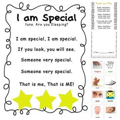 """All About Me"" Free Printables and Activities for Back to School"