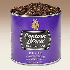 Captain Black Grape is the latest entry from the largest-selling brand of pipe tobacco in the US. Using the same blend of white Burley, Bright Virginia and black Cavendish as Captain Black Regular, Captain Black Grape is finished with a lively, sweet note of grape for a room-pleasing aroma, but a subtly zesty flavor. We expect this blend to be one of their most popular yet. Give it a try today!