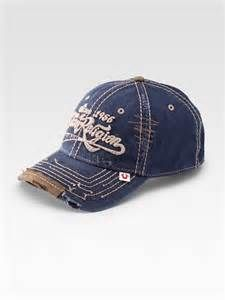 97c93a26100 True religion Script Logo Baseball Cap in Blue for Men