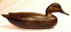 """Rare pintail hen by John English- """"arguably one of the finest Delaware River decoys to come to auction""""-sold for $225,000 in 2007"""