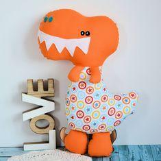 Sympatyczny dinozaur Grześ 42 cm Dinosaur Stuffed Animal, Toys, Animals, Animaux, Animales, Games, Animal, Toy, Dieren