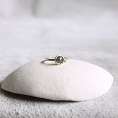 Rose Cut 1ct Diamond Ring, by TamaraGomez