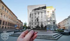 Львів: старі будівлі на сучасних фотографіях   Inspired