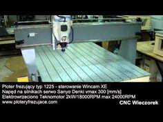 Ploter frezujący cnc typ 1225 1250x2500x3000mm - CNC Wieczorek
