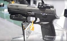 Sig Sauer P320 Full-Size RX - New Generation Frame - Sig Sauer Foxtrot 1 Pistol Weapon Light - Optic Sig Sauer Romeo 1