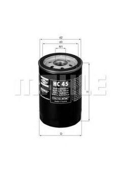 хидравличен филтър, автоматична предавателна кутия KNECHT HC 45