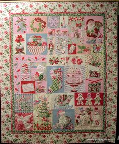 Crazy for Christmas Flannel Panel MASF18173-Z - love this quilt ... : quilt for christmas - Adamdwight.com