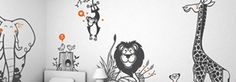 DESIGN FOR KIDS | Giant Kids Wall Stickers & Kids Rooms Decor Accessories | Design Studio E-Glue for Babies & Kids - E-GLUE