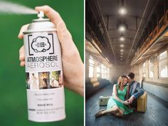 Atmosphere Aerosol is a canned fog spray that allows photographers to create haze or fog without having to invest in or lug around a heavy fog machine.