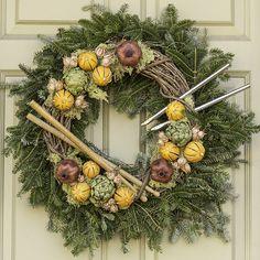 A musical wreath in