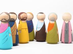 The Last Supper  Wooden Dolls