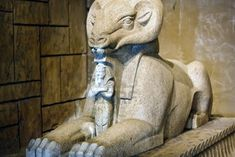 Egyptian Ram. The ram is the creature that represents Amun-Ra, God of Kings and King of Gods, the oldest and longest venerated ruler of ancient Egypt.