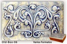 "ArteyMetal: Caja joyero plumier ""Old box 06"""