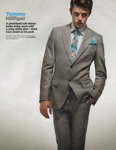 David's Gay Dish: Men's Fashion Notes - Older Male Models & New Suits