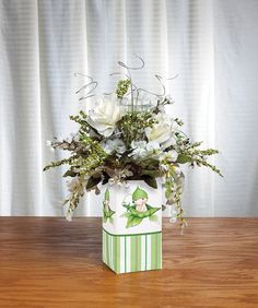 Sweet Pea Baby Shower Centerpiece