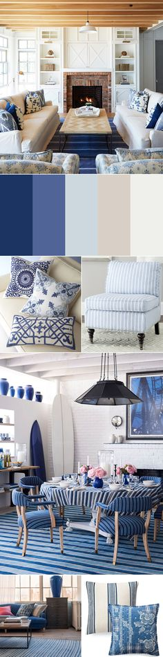 Rustic Coastal Design Ideas: Color Palette