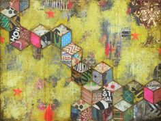 Featured Muse: Mixed Media/Collage Artist - Jill Ricci
