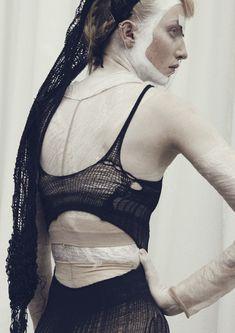 #knit #voft #slowfashion #valeriyaolkhova #lycra #black #bodysuit #accessory…