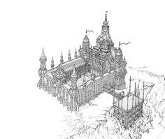 무도가의성_스케치, KKS ~ on ArtStation at http://www.artstation.com/artwork/_-99c40710-ddda-406d-b735-3b2e6cb6d43b