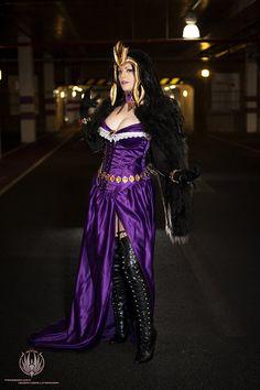 Liliana Vess - Planeswalker - Temptress Necromancy (cosplay from Magic the Gathering) by faramon