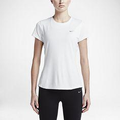 Nike Dry Miler Women's Short Sleeve Running Top. Nike.com