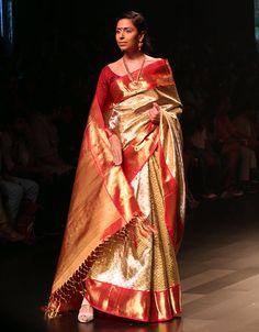 Bhavana for pulimoottil silks abhinava bridal collection traditional kanjivaram thecheapjerseys Gallery