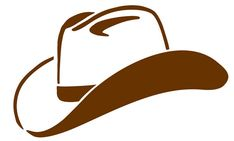 Cowboy Hat Clipart Black And White   Clipart Panda - Free Clipart ...