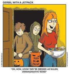 At Least Make SOME Effort - Halloween