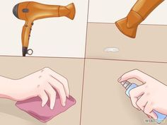 how to get wax off any surface helpful hints remove wax diy carpet cleaner wax. Black Bedroom Furniture Sets. Home Design Ideas