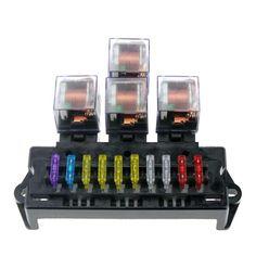5x 100 amp MEGA FUSE 12v 24v 32v 100a Yellow We stock All Sizes /& Fuse Holder
