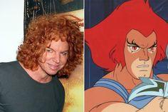 Carrot Top / Lion-O - Celebrities Who Look Like Iconic Cartoon Characters - Photos
