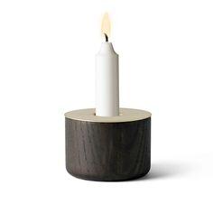CHUNK of Wood M, w. Brass , Menu