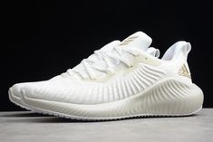 Mens Adidas Alphabounce Plus white gold for only 65$