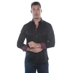 Isaac B. Long Sleeve Button Down Shirt
