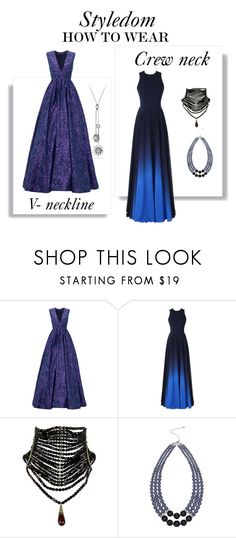 """""""How to wear"""" by khouryolivia ❤ liked on Polyvore featuring ML Monique Lhuillier, M&Co, David Yurman, HowTo, HowToWear, styling101 and styledbystyledom"""