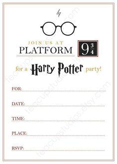 New Harry Potter Birthday Invitations Printable Free. New Harry Potter Birthday Invitations Printable Free - Birthday Invitation Ideas Harry Potter Halloween, Harry Potter Motto Party, Harry Potter Fiesta, Harry Potter Invitations, Harry Potter Printables, Harry Potter Christmas, Harry Potter Birthday Invitation, Invitation Birthday, Harry Potter Carta