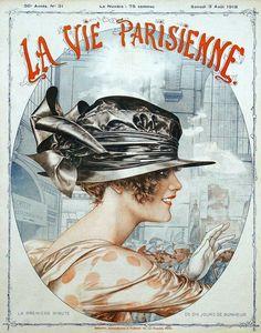 La Vie Parisienne, Chéri Hérouard cover 3 August 1918