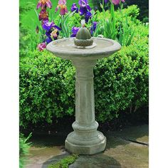 Free Shipping and No Sales Tax on the Acorn Garden Water Fountain from the Outdoor Fountain Pros.