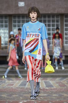 Kenzo Cast All Asian Models for Its Summer 2018 Men's and Women's Show Photos | W Magazine