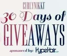 CurlyNikki Spring 2015 Giveaway #naturalhair #curlygirl #freebies