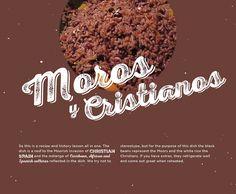 BG Holiday 2014, moros y cristianos, Cuban rice, black beans, bacon, Cuban recipes, cooking, design, Brunet-Garcia Advertising