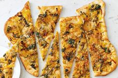 Butternut Squash and Smoked Cheddar Flatbread Pizza