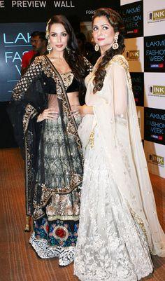 Malaika Arora Khan and Amrita Arora #Bollywood #Fashion