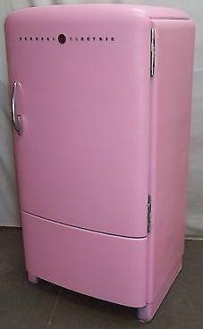 Mattress Springs, Top Freezer Refrigerator, Kitchen Appliances, Pink, Home, Diy Kitchen Appliances, Home Appliances, Ad Home, Homes