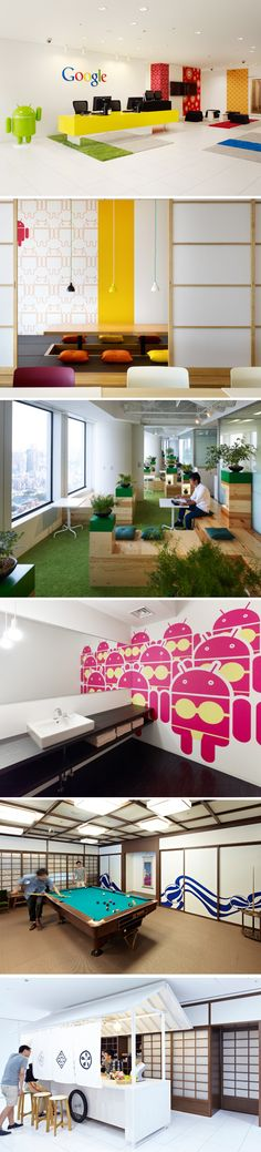 Google office in Tokyo