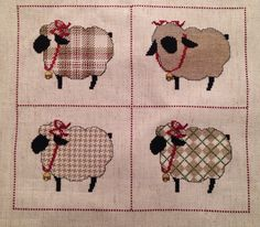 Woolen Sheep (c) The Cricket Collection. Finished 10/20/03.