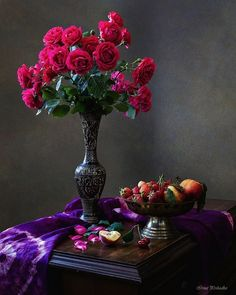 Розы и фрукты | Photographer Ирина Приходько | foto.by фото.бай