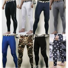 New Mens COMPRESSION Base Layer Pants or Short tight under skin sports gear in Clothing, Shoes & Accessories, Men's Clothing, Athletic Apparel | eBay